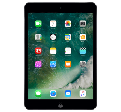 iPad mini 2 on/off